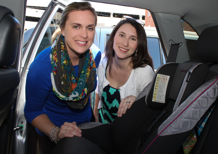 Megan Branham and Heidi Aakjer