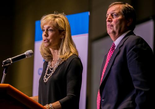 Peggy and Gregg Nibert
