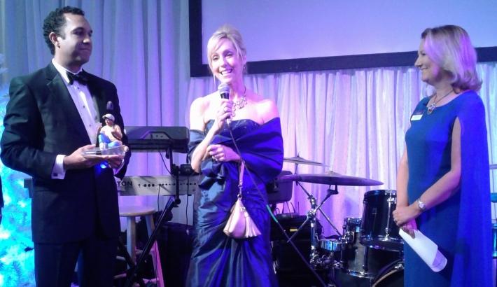 Peggy receives award