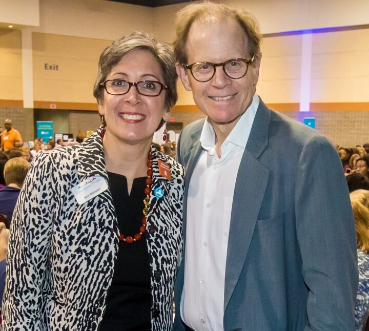 Sue Williams and Dan Siegel