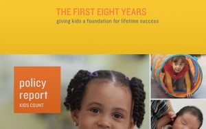 Annie E. Casey, The First 8 Years policy report cover