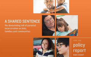 Annie E. Casey, A Shared Sentence policy report cover