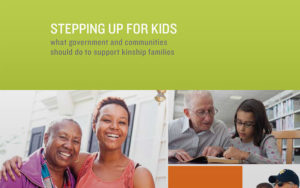 Annie E. Casey, Stepping Up Kids policy report cover