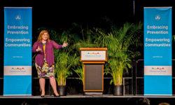 Ashley Rhodes Courter speaking at Children's Trust Prevention Conference 2017