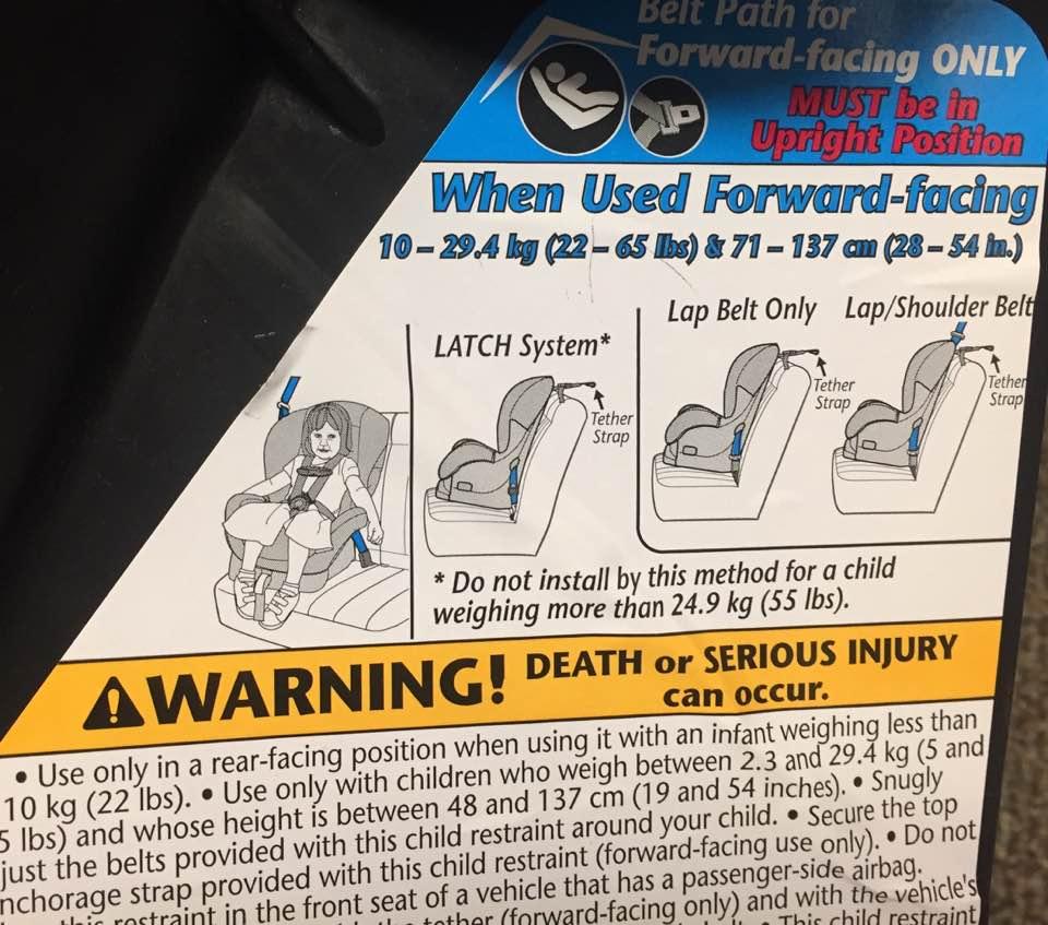 South Carolina Car Seat Laws
