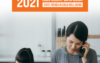 2021 KIDS COUNT Data Book cover