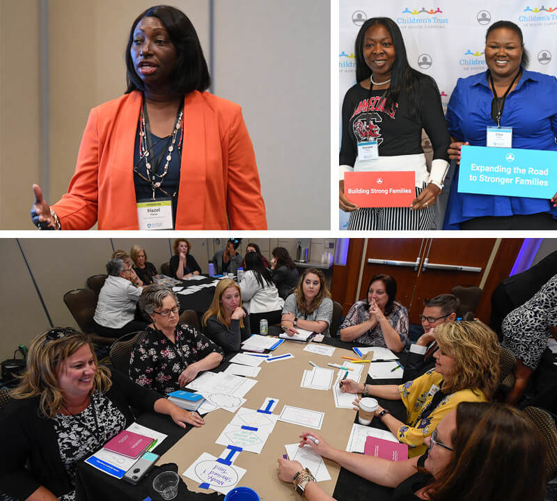Building Hipe for Children Conference collage