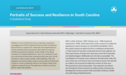 ACE research brief Portraits of Success and Resilience