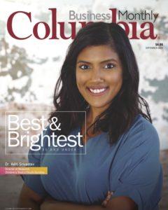 Aditi Srivastav, Columbia Business Monthly cover