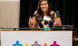 Aditi speaking at the 2016 ACEs Summit