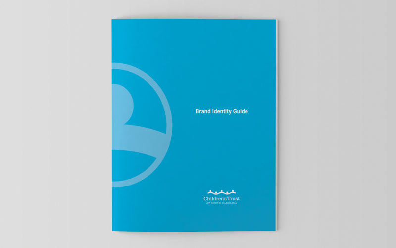 Brand Identity Guide cover mockup