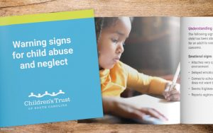 Warning Signs for Child Abuse and Neglect brochure