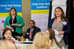 Child Well-Being Coalition meeting