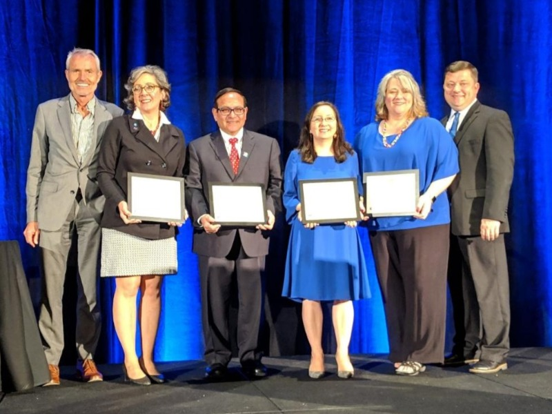 Children's Bureau Champion Awards recipients