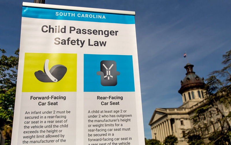 Car Seat Safety Rides To The State House Childrens Trust Of South Carolina