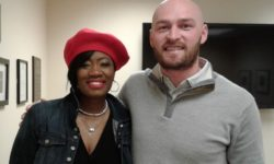 Karen Dukes-Smith and Connor Shaw