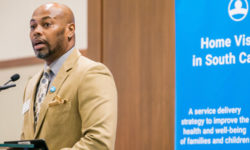 Eric Bellamy speaks at Home Visiting Summit 2019