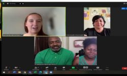 Parents Discuss Strengthening Families on Zoom