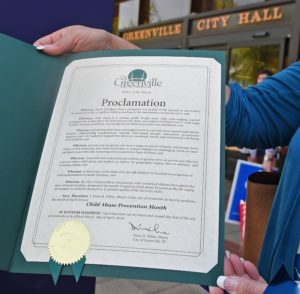 Greenville City Proclamation
