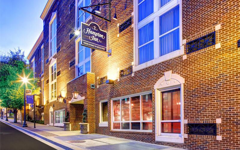 Hampton Inn Columbia Historic District