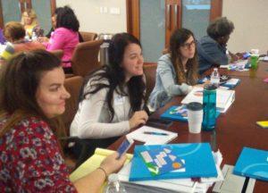 Melinda Hartoin at Peer Learning Session