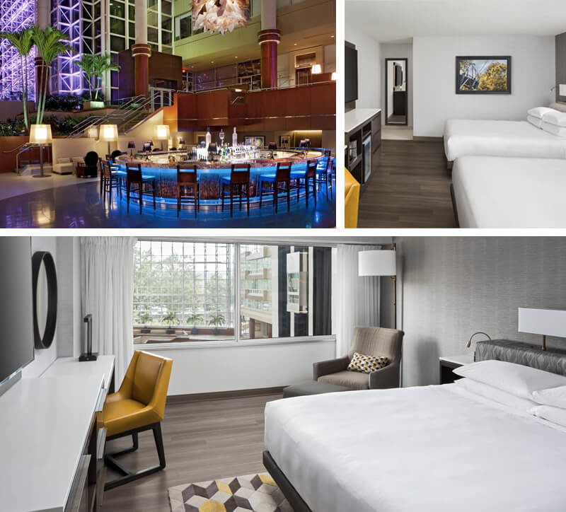 Hyatt Greenville collage