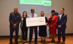 Children's Trust presents check to Pee Dee CAP