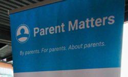 Parent Matters sign