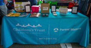 Parent Matters Event - Information Table