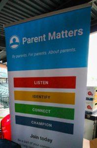 Parent Matters Event - Sign
