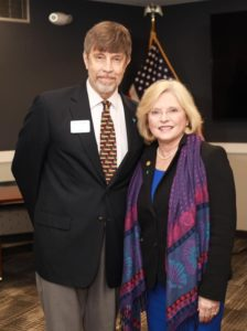 Children's Advocacy Center Day, Lee Porter and Katrina Shealy