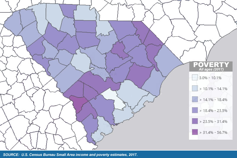 Poverty graphic in S.C.