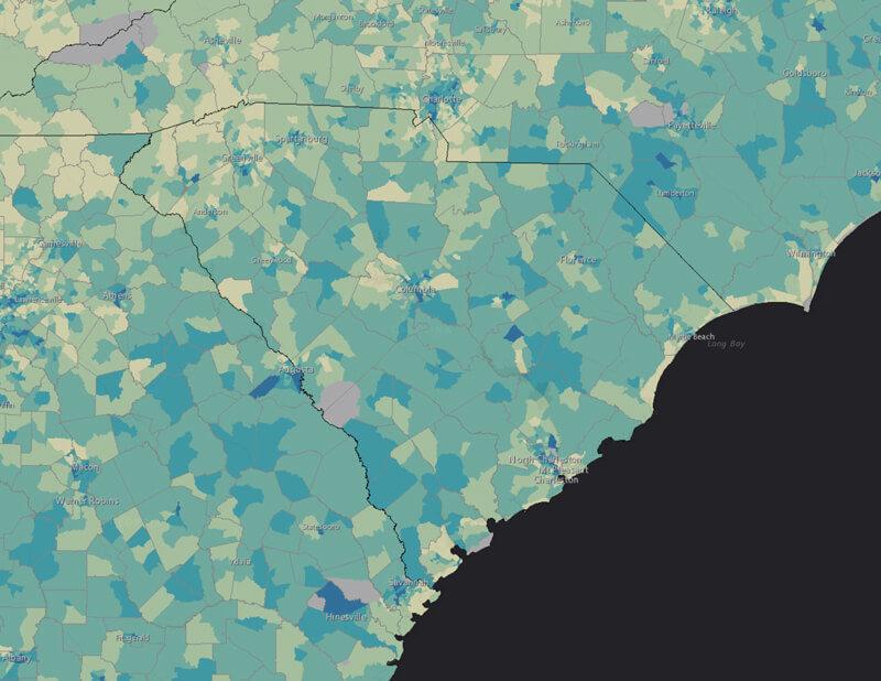 Response Outreach Area Mapper