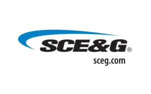 SCE&G logo with sceg.com