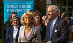 Gov. Master at Child Abuse Prevention Month