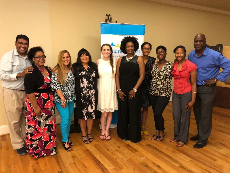 Strengthening Families Program staff with Growing Home Southeast in Rock Hill