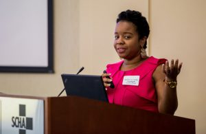 Seals Speaks at Child Well-Being Coalition
