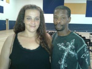 Amanda Sweat and David Gates