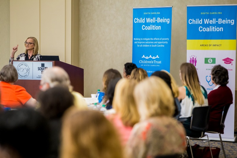 Turley Speaks at Child Well-Being Coalition